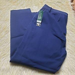 Lauren Ralph Lauren Pluse Size Navy Trousers